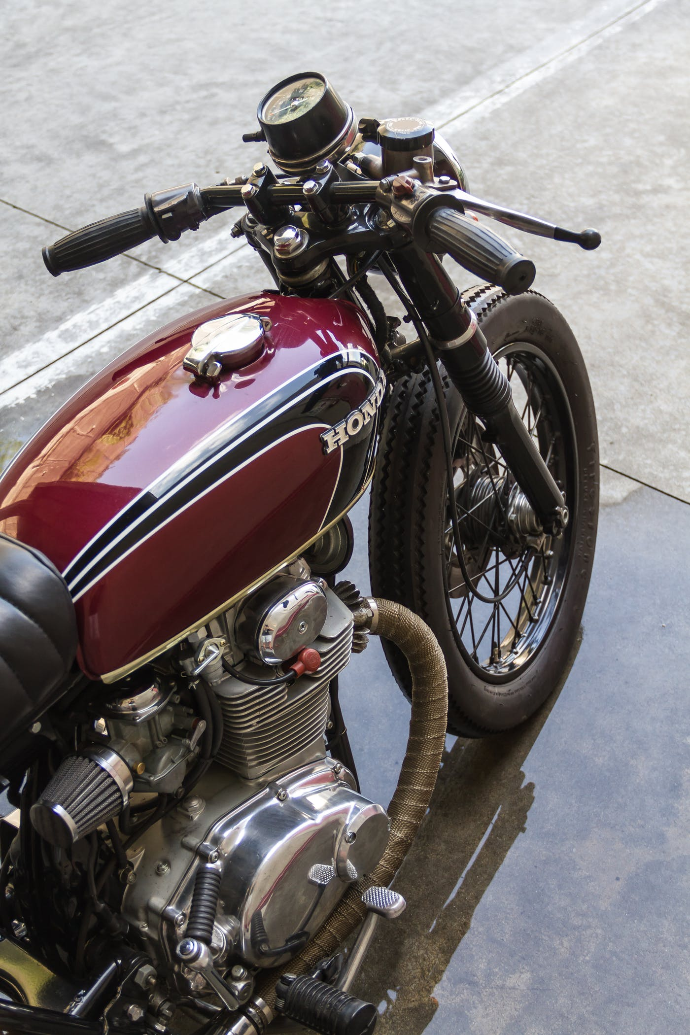 Honda CB350 by Greaser Garage