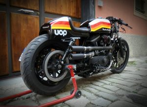 Harley Davidson Sportster by Greaser Garage