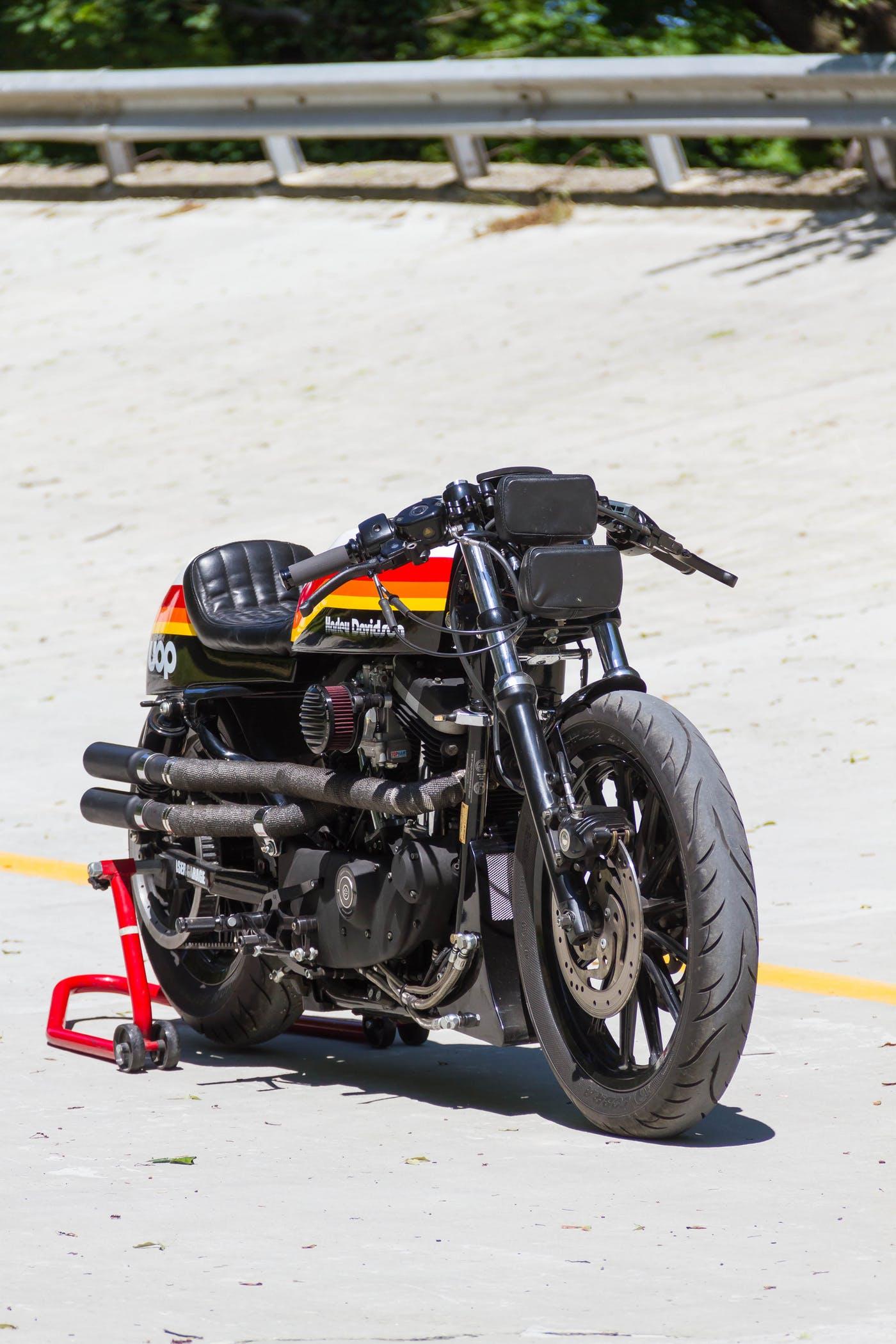 Harley Davidson Sportster by Greaser Garage