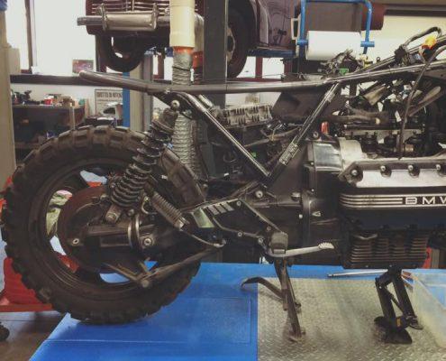 K1100 rear frame by Greaser Garage