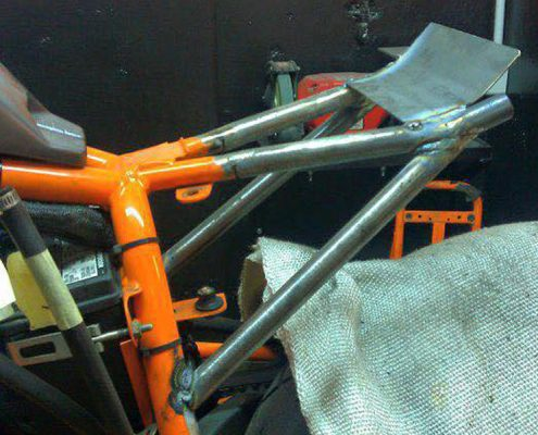 Buell rear frame by Greaser Garage