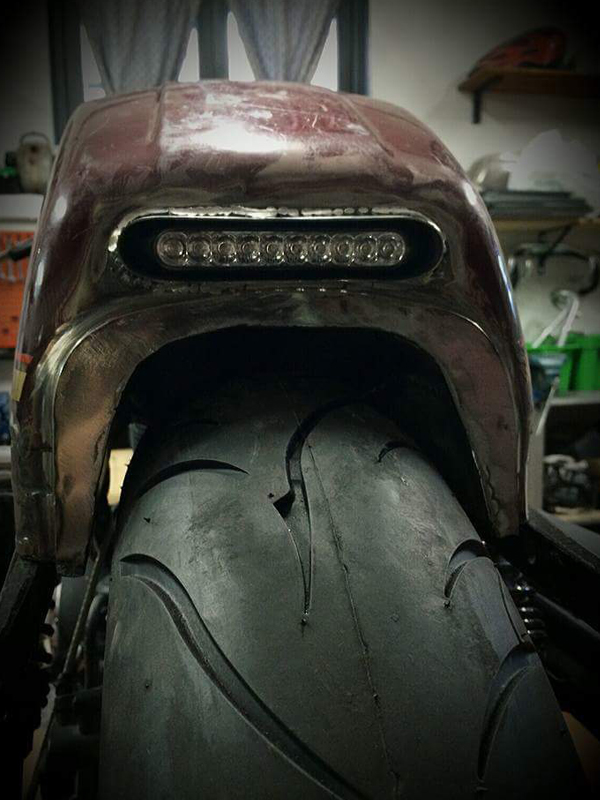 Harley tail by Greaser Garage