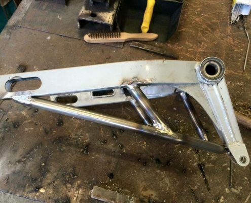 Swingarm by Greaser Garage
