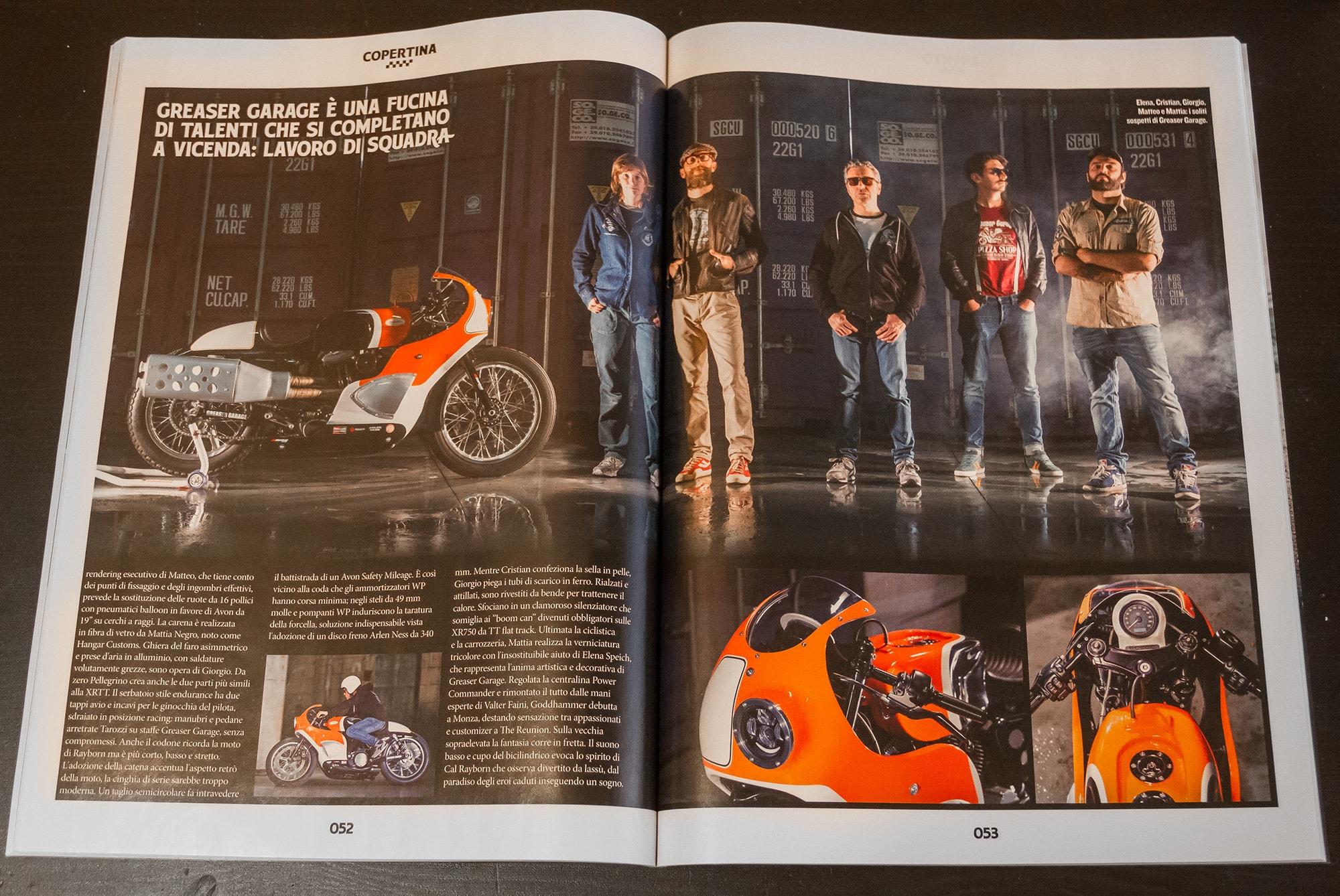 Harley Goddhammer by Greaser Garage