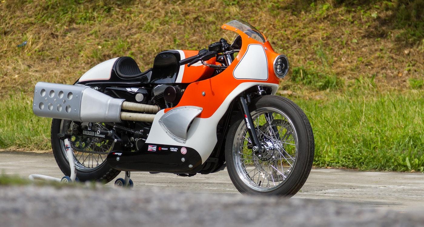 Harley Davidson Sportster Goddhammer by Greaser Garage