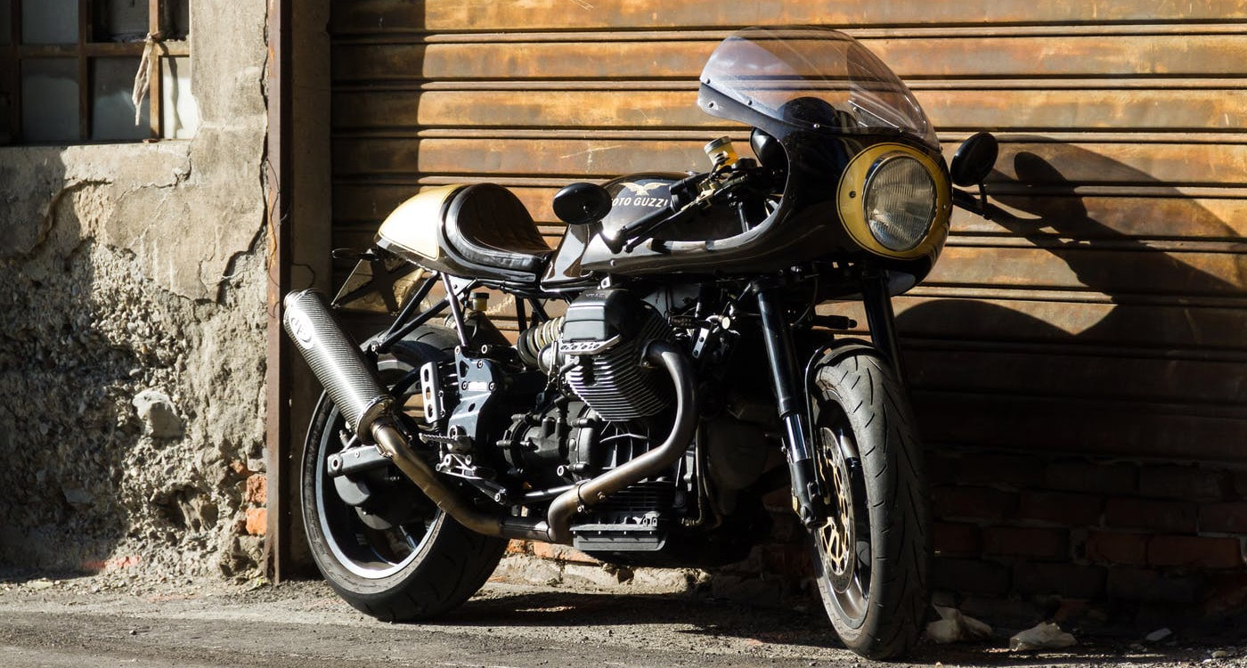 Guzzi V11 by Greaser Garage
