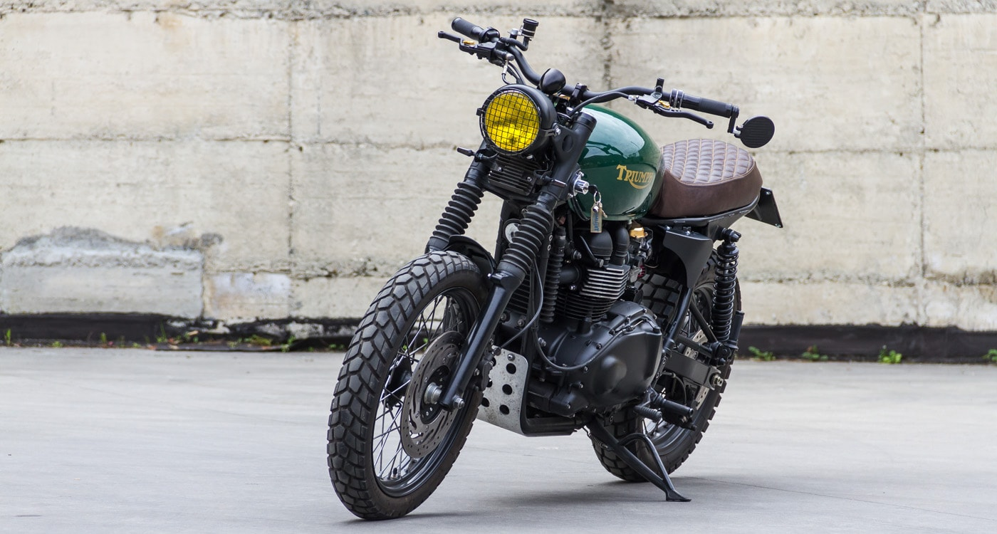 triumph scrambler by Greaser Garage