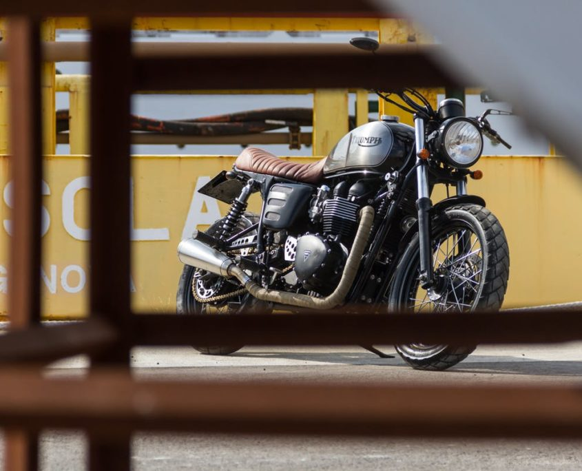 Triumph Bonneville by Greaser Garage