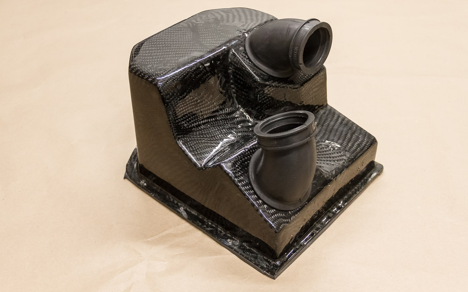 Carbon airbox by Greaser Garage