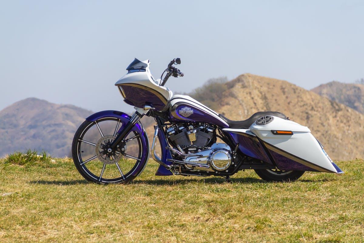 Harley Davidson Road Glide by Greaser Garage